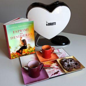 """Caffè d'autore con Sabrina Grementieri e il suo ultimo romanzo """"Esprimi un desiderio"""""""