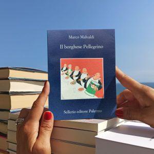 """""""Il borghese Pellegrino"""" di Marco Malvaldi."""