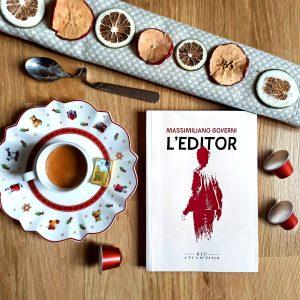 """""""Caffè d'autore"""" con Massimiliano Governi e il suo ultimo romanzo """"L'editor""""."""